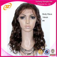 Body Wave Free Part Lace Wig, Short Lace Front Wigs For Black Women