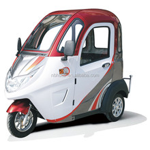 new type full close type passenger electric tricycle