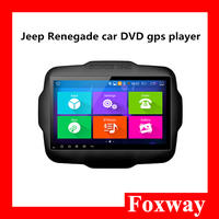 in-vehicle 9 inch touch screen car dvd player,android 4.4.4 car gps audio player with bluetooth,mirrorlink for Jeep Renegade