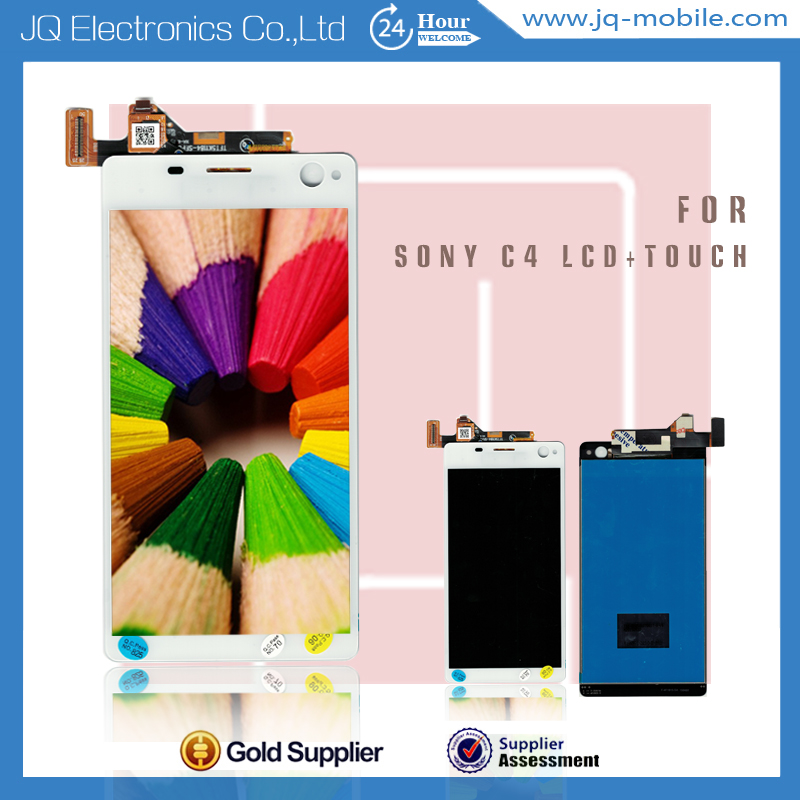 Products made in china smartphone spare part for Sony c4 lcd digitizer