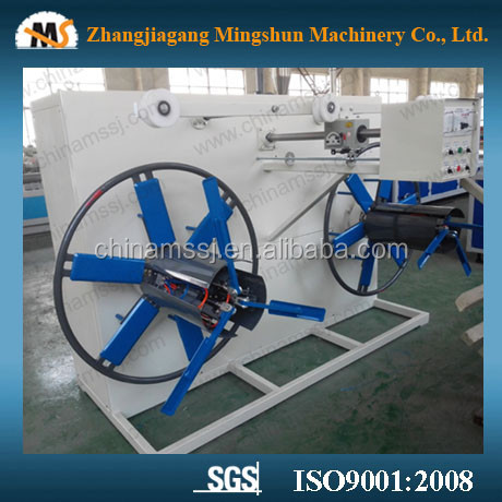 double disk winder for pipe / soft pipe winder / winding machine coil