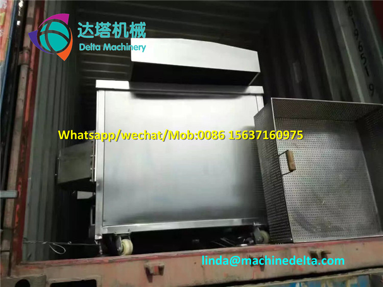 Full Stainless Steel Potato Chips Machine Production Line