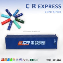 "Plastic miniature 1:87 scale for collection40'FT ""CR EXPRESS"" shipping container models shipping container <strong>toy</strong>"