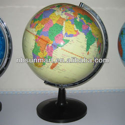 Plastic world globes