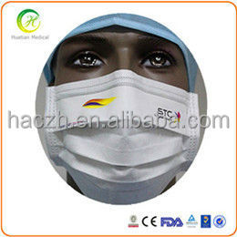 Nonwoven Face Mask BFE 99%,Dental Clinic Disposable Face Mask / Earloop Face Masks,face mask with design/logo