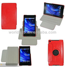 Multi-view Rotating Stand Leather Case for Google Nexus 7 2nd