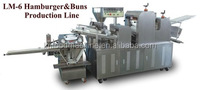Shanghai toast bread/french bread/bun making machinery