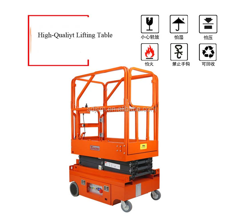 High quality automatic lifting platform with convinent operation for construction