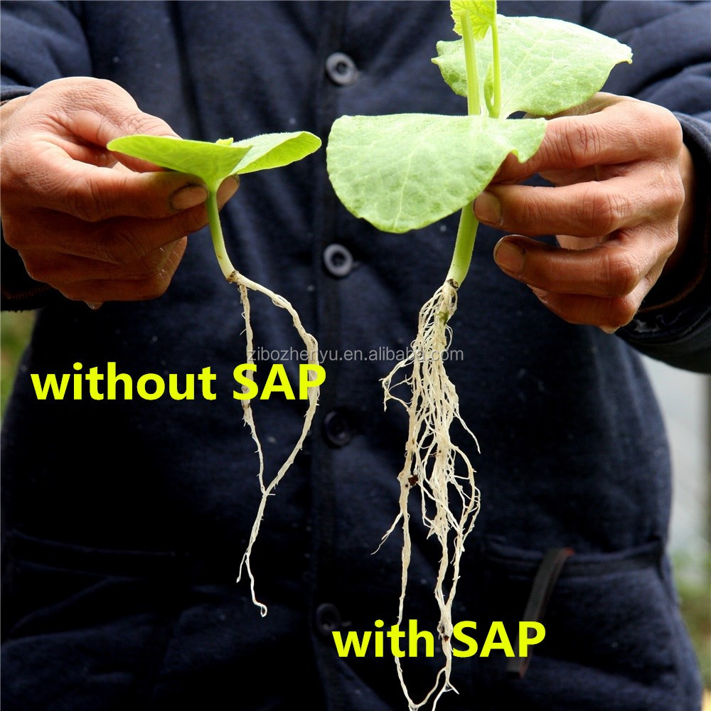 2017 latest technology SAP crystals super polymer for agriculture