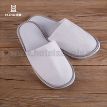 JET-SL-160 Disposable white terry home guest eva foam slipper