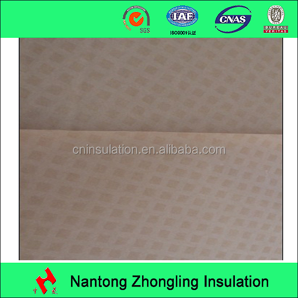 0.13mm diamond pattern resin-coated insulation paper/DDP