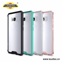 Free Sample Tpu Bumper Pc Back Protective Mobile Phone Case For Samsung S8