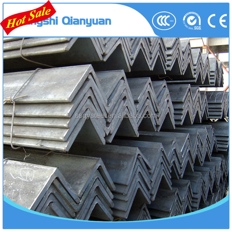 hot rolled equal angle steel iron st235jr ss400 grade
