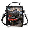lunch cooler bag for kids and children custom train printing,design your own bags