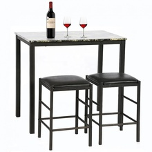 Simple Dining Kitchen Table and Chairs Marble Dining Set <strong>Furniture</strong>