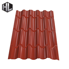 Spanish style metal roof tiles