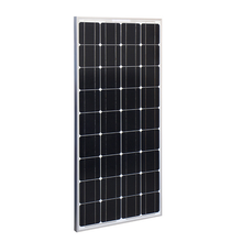 25 years warranty 100w mono crystalline pv module 100wp solar panel
