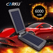 Sun power Efficiency Solar Panel Solar Charger 12V DC For Car jump starter Charger Emergency Start Battery Smartphones