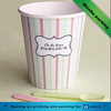 custom logo printed disposable frozen yogurt ice cream paper cup bowl with spoon