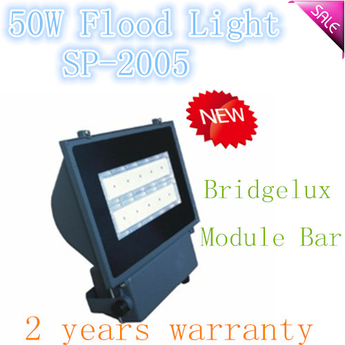 Singbee CE/RoHS certified IP65 50W ground mounted flood light SP-2005 2 years warranty Bridgelux Chip