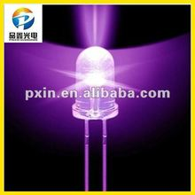 2016 hot sale 5mm purple led diode