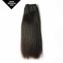 Wholesale Natural Color Double Drawn Star Quality Straight Cheap Brazilian Hair Weave Bundles