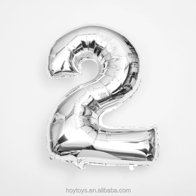 Alphabet Letters And Numbers inflatable party decoration Foil Balloons