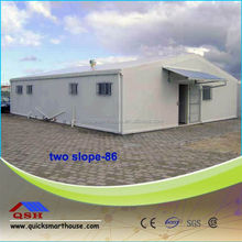green prefabricated house, Military barrack camp house