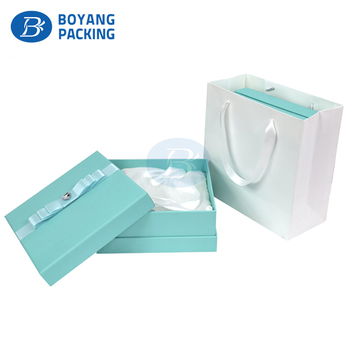 China Wholesale Gloss Beauty Fashion gift Paper Cosmetic box and Bag packaging