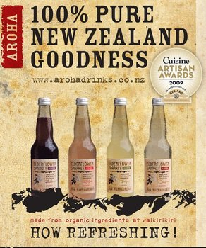 Aroha elderflower sparkle range 330ml buy elderflower for Aroha new zealand cuisine menu