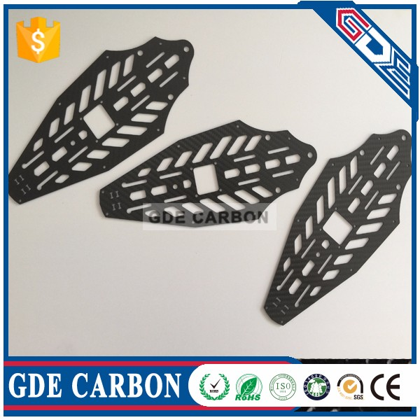 30mm inner diameter Carbon fiber square tube for construction
