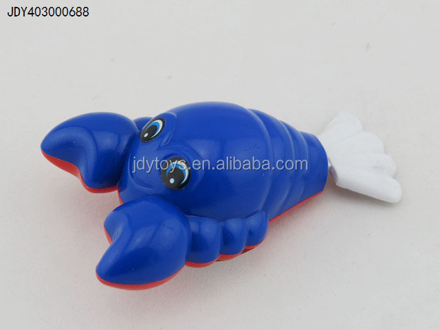 Hot Selling Kid Toy Mini Chain Lobster Wind Up Toy, New Design Wind Up Toy,Plastic Chain Clockwork Toy