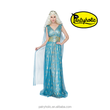 Queen Of Fire Dragon Daenerys Targaryen Dress Game of thrones Season Cosplay Costume(12305)