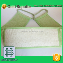 hot item for man exfoliating Bamboo Back Brush and Loofah
