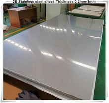 High quality 201 304 316 321 410 420 430 5mm thickness stainless steel sheet