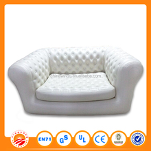 PVC leather inflatable air filled lounge living room sofa for sale