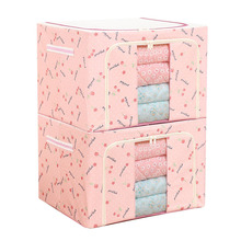 Oxford folding foldable home cloth underwear toy storage box organizer