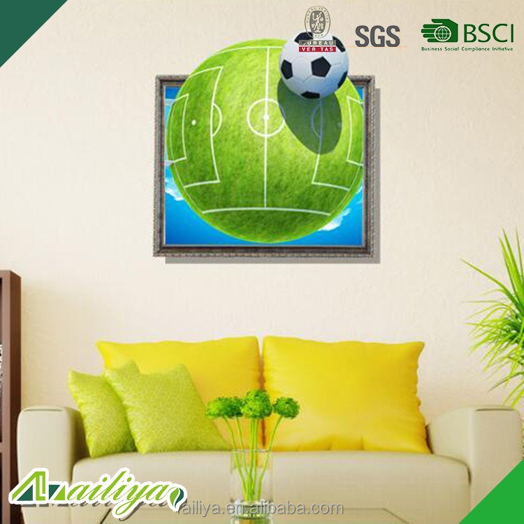 ALY-3D013 Home Decoration China Wholesale Living Room Kids Wall Stickers 3D