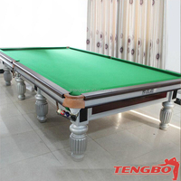 Factory price MDF cap usa california snooker pool table for adults