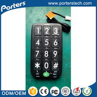 Hot-Selling High Quality Low Price Corded Telephones , Telephone For Old People