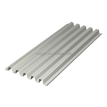thin galvanized corrugated metal fence sheet