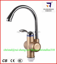 made in china instant water heater tap / electric instant hot water tap / instant heating water faucet