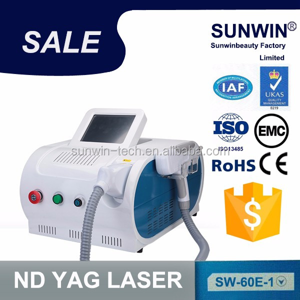 1064nm laser warts removal & tattoo & pigmentation removal keyword:nd yag laser