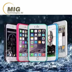 Latest Design Waterproof Mobile Phone Case For Apple iPhone 6 6s plus with dust plug