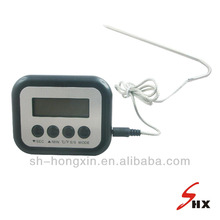 Digital thermometer for BBQ & roast meat beef temperature testing
