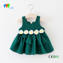 Casual Girls Clothing Wholesale Boutique Frocks Designs Child Shirt Dress