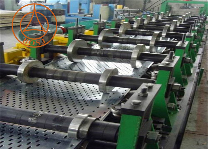 Hot Sales Global Galvanized Metal Perforated Sheet Cable Tray Machine