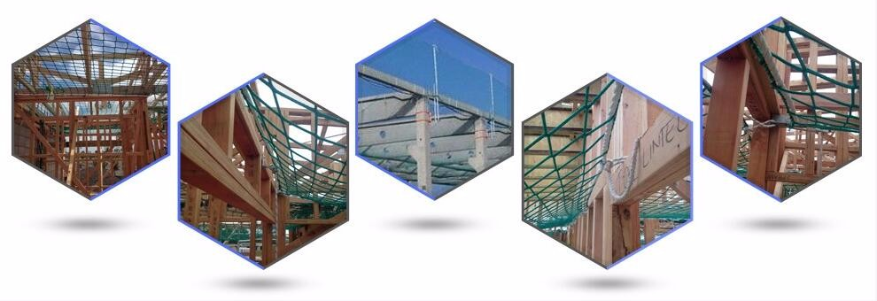 Raschel Safety Nets For Building And Construction Protection
