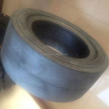 low price press-on solid tyre 10x4x6 1/4 for milling machine tow trucks