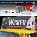 3G/4G/WIFI/GPS/USB Mobile xxx Video Wireless Taxi/Car Advertising Top LED